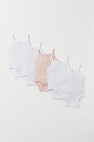 960aa29183e9 5-pack Sleeveless Bodysuits