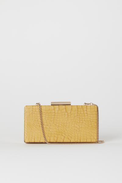 H&M - Snakeskin-patterned clutch bag - 1