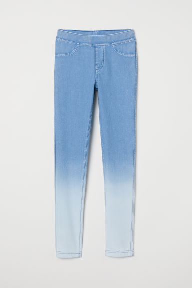 Jersey leggings - Light blue - Kids | H&M GB