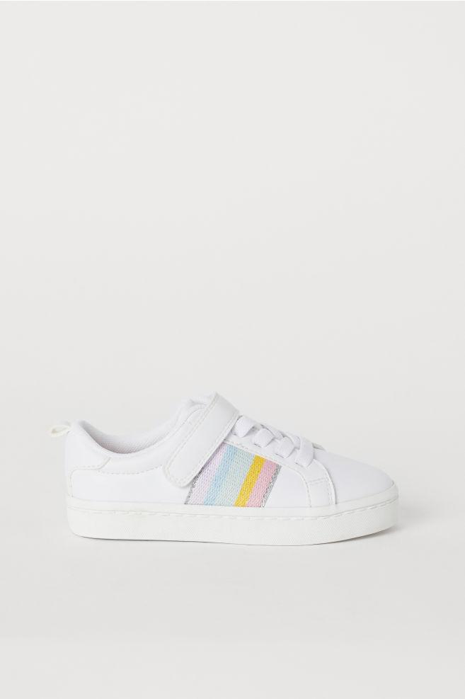 72b8da7051a Sneakers - Wit/regenboog - KINDEREN | H&M ...