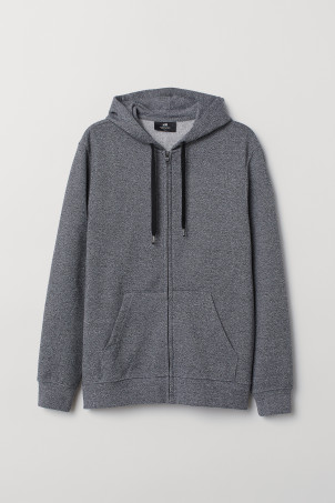Regular Fit Hooded Jacket