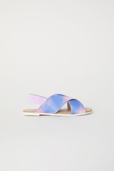 Sandals - Pink/Patterned -  | H&M