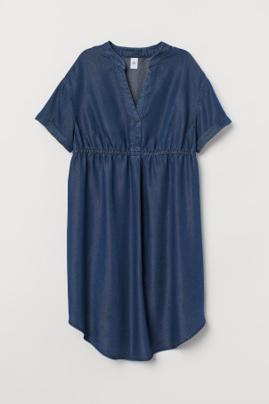 MAMA Lyocell Denim Dress