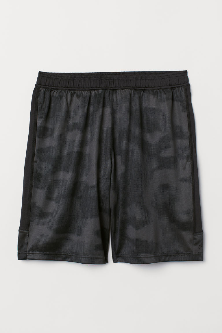 Shorts sportivi - Nero/fantasia -  | H&M IT