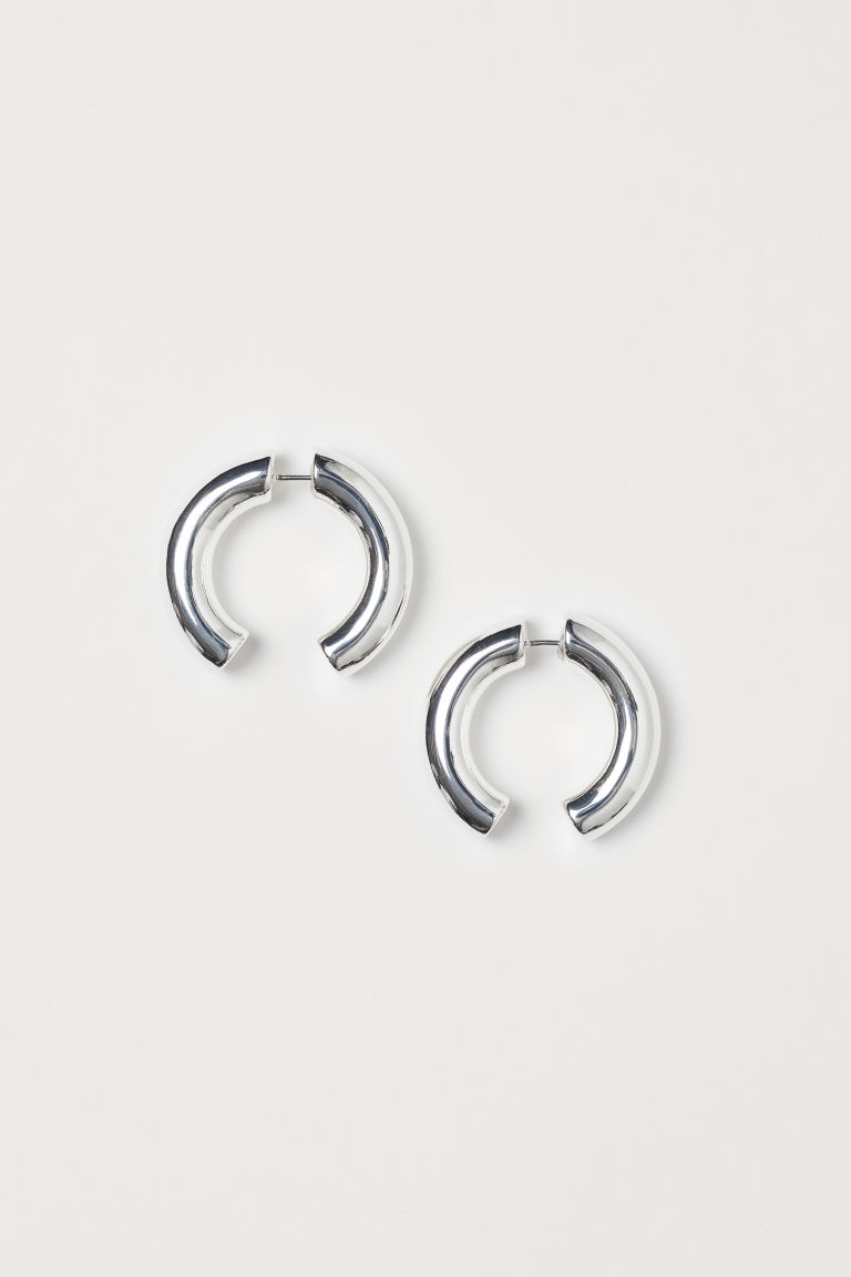 Two-part Earrings - Silver-colored - Ladies | H&M CA