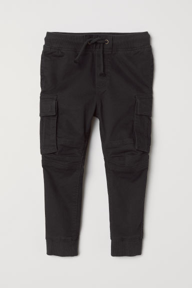 Cargo trousers - Black - Kids | H&M