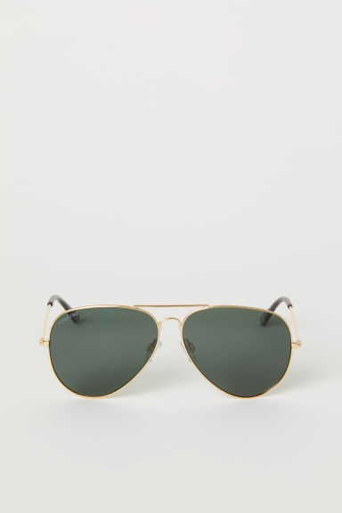 Polarised sunglasses - Gold-coloured - Men | H&M CN