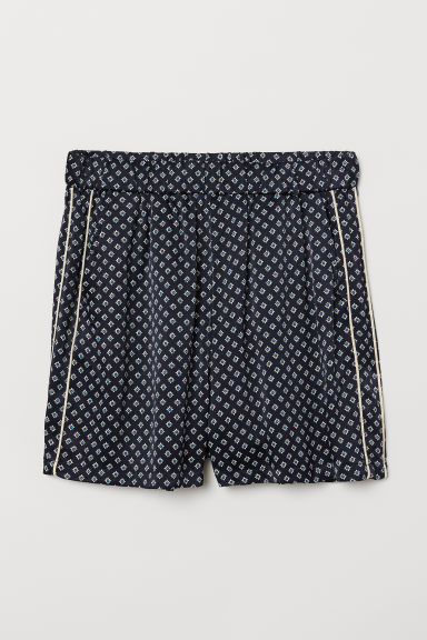 Shorts fantasia - Blu scuro/fantasia - DONNA | H&M IT