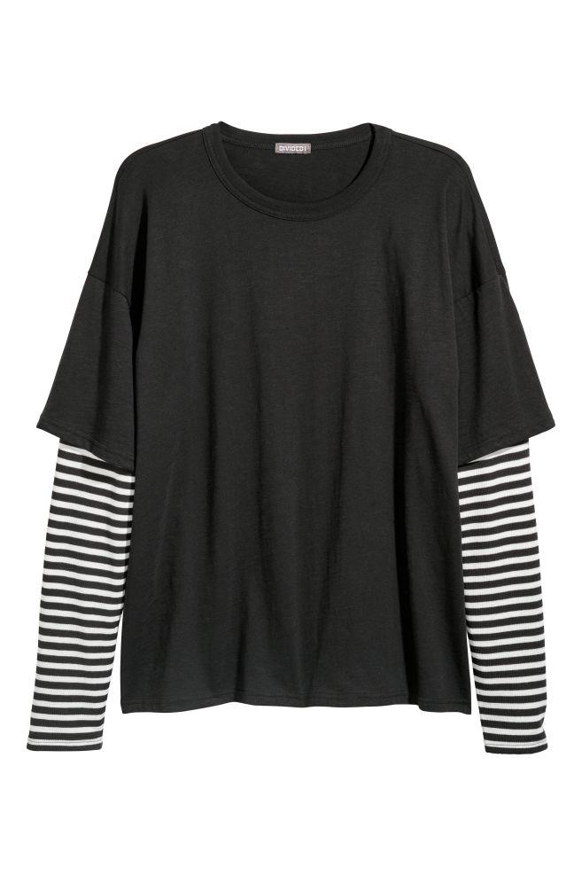 80aa68e87f Double-sleeved T-shirt