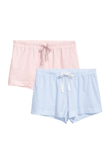 Lot de 2 shorts de pyjama - Bleu clair -  | H&M BE