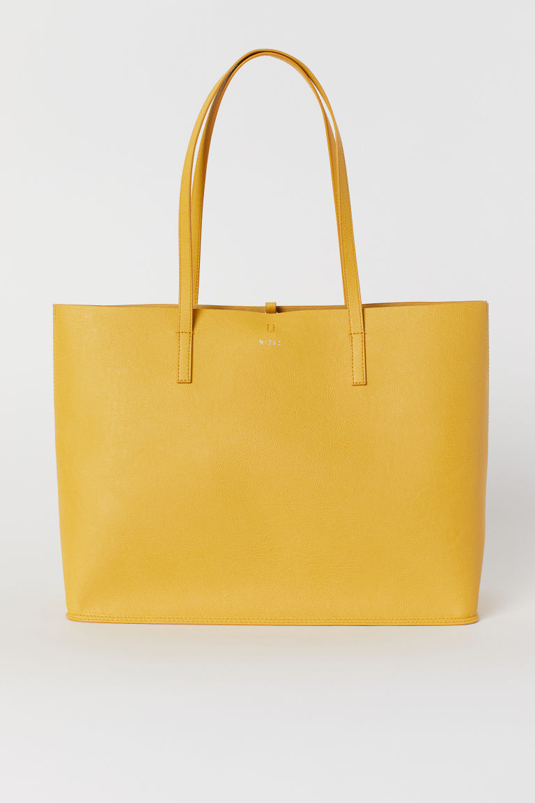 Reversible Shopper - Yellow -  | H&M US