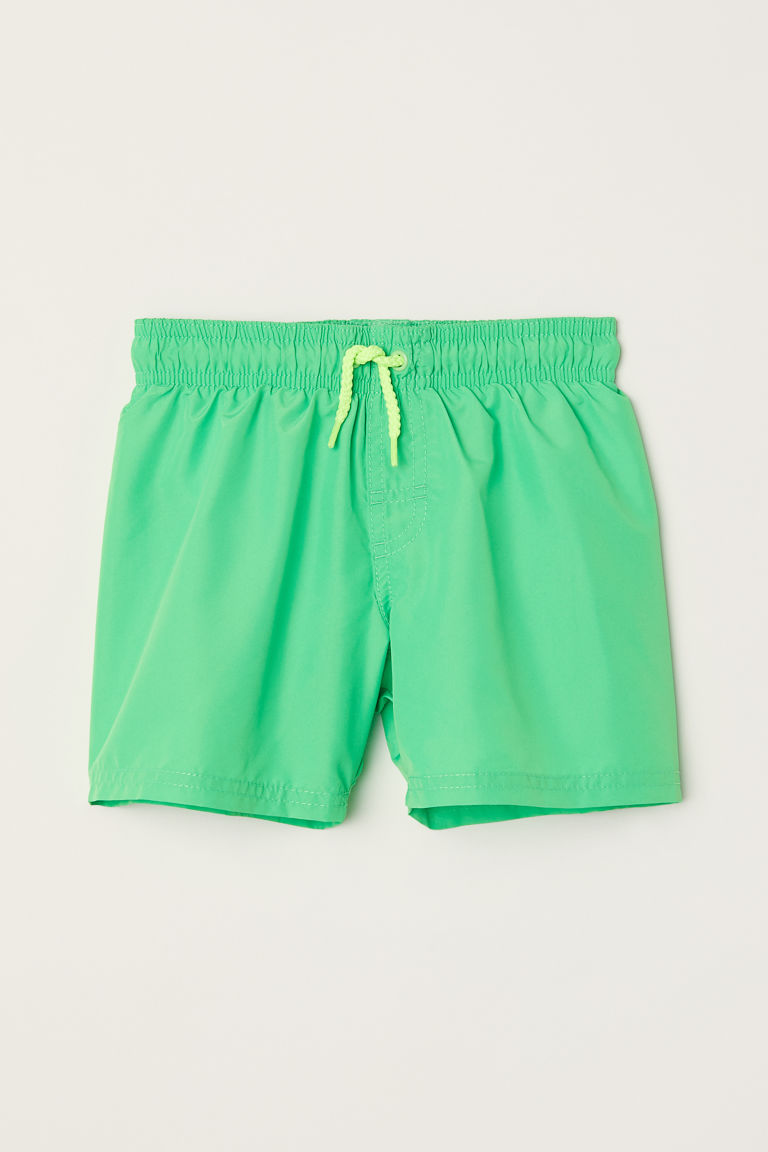 Swim shorts - Green - Kids | H&M