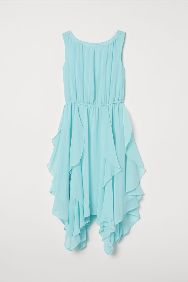 317c4166e ... Šifónové šaty - tyrkysová - | H&M ...