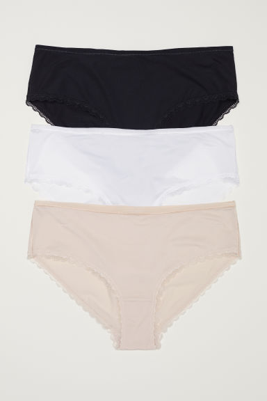 3-pack hipster briefs - Black -  | H&M CN