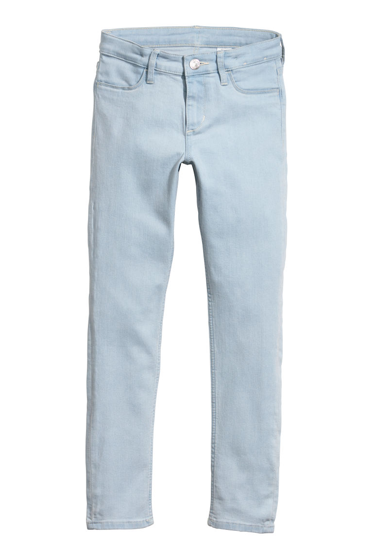 Skinny Fit Jeans - Bleu denim clair - ENFANT | H&M BE