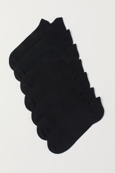 7-pack sports socks - Black - Men | H&M