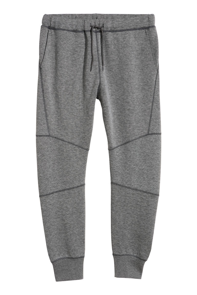 Joggers - Dark grey marl - Men | H&M