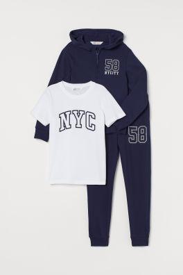 da9765b91f502 Erkek Çocuk Kıyafetleri - Beden 8y-14+- Online satın al | H&M TR