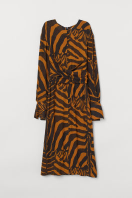 019625c5d4c1 Zebra-striped Dress