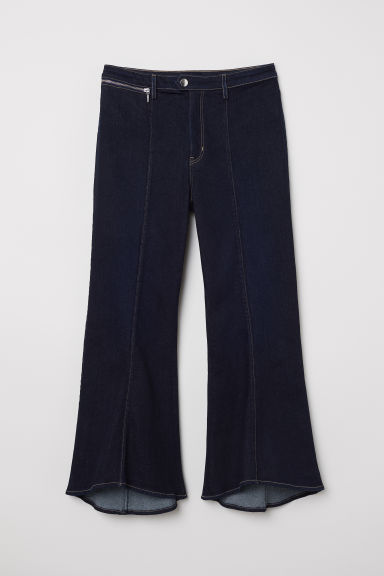 Kick Flare Jeans - Dark denim blue -  | H&M CN