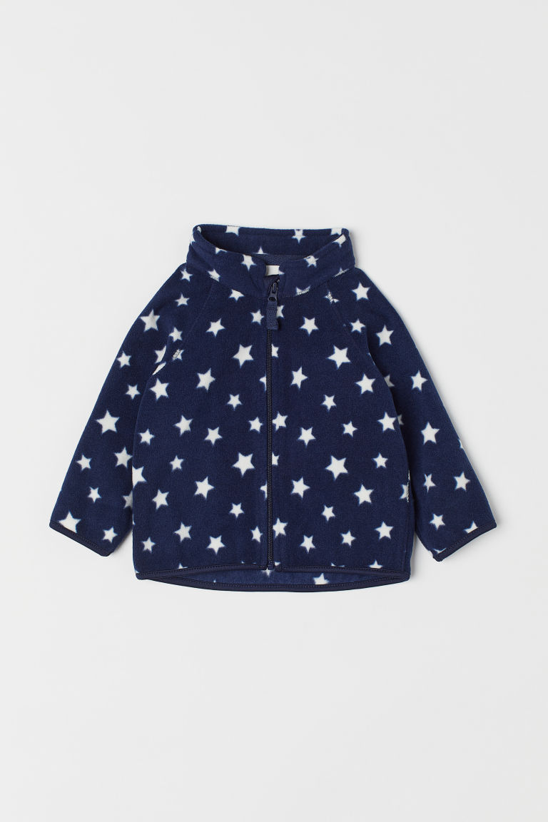 Giacca in pile - Blu scuro/stelle -  | H&M IT
