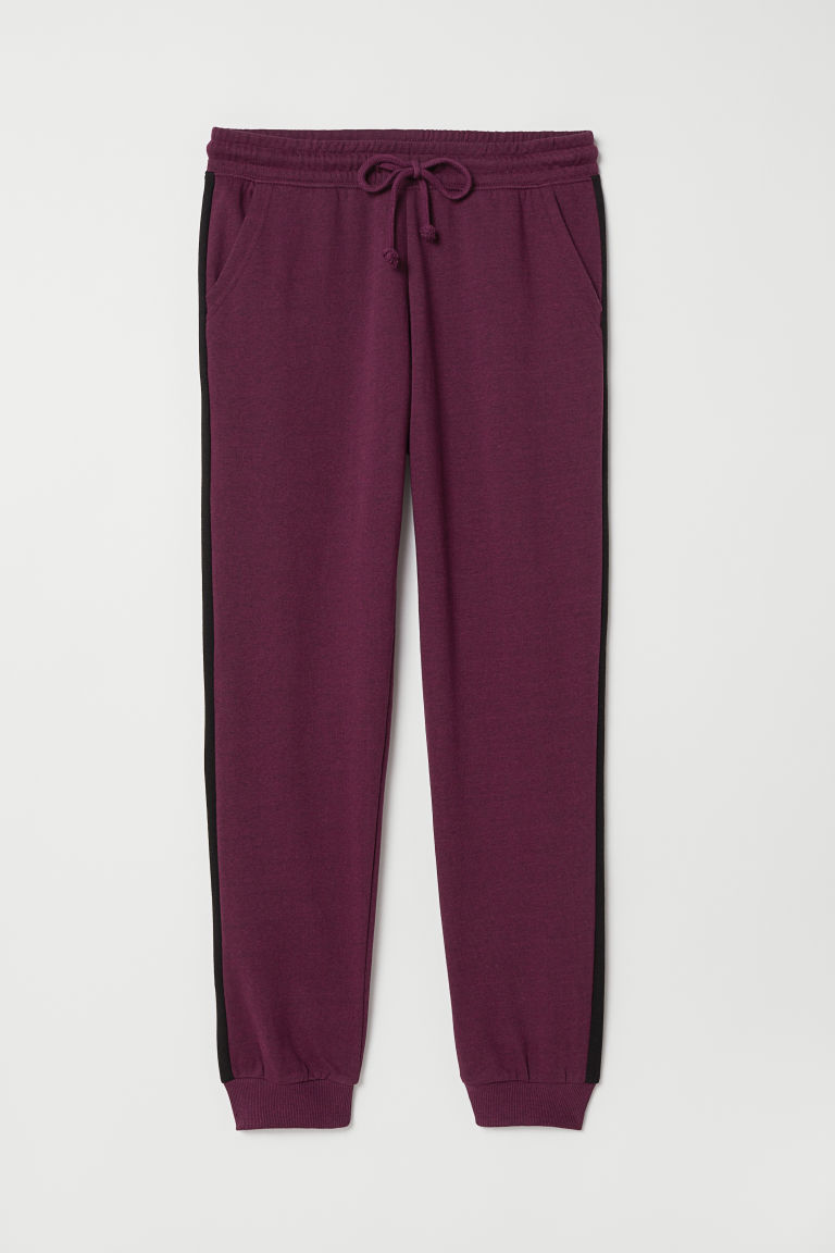 Sweatpants - Purple - Ladies | H&M CN