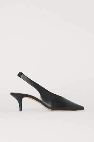 Slingbacks with Pointed Toes