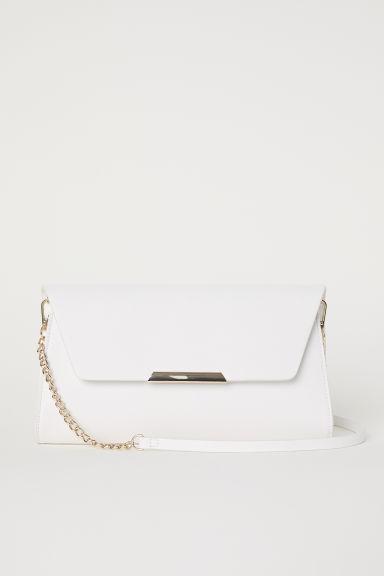 Clutch bag - White - Ladies | H&M CN