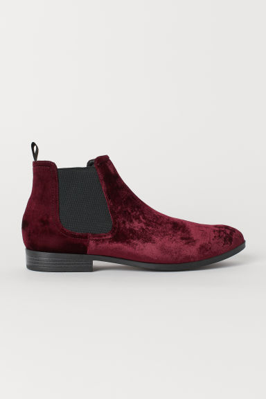 Chelsea boots - Burgundy - Men | H&M GB