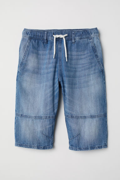 Clamdiggers - Light denim blue - Kids | H&M CN