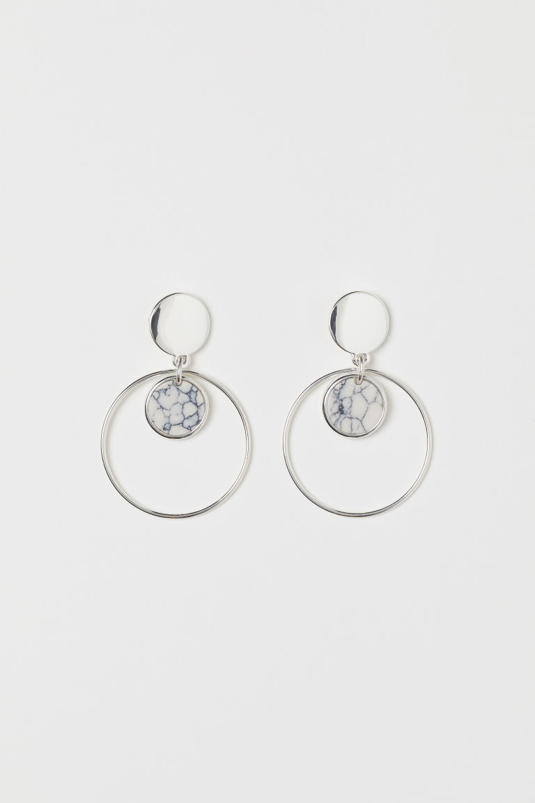 Earrings - Silver-colored - Ladies | H&M US