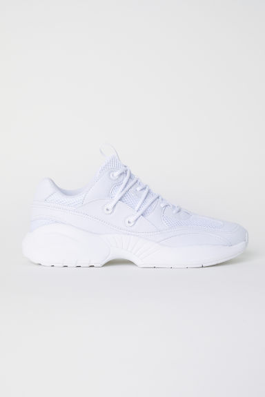 Mesh trainers - White - Men | H&M CN
