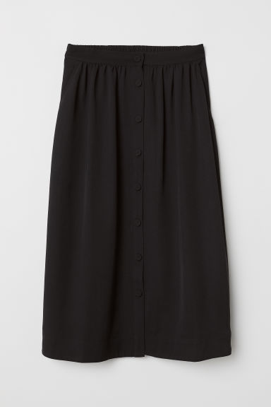 Bell-shaped skirt - Black - Ladies | H&M CN