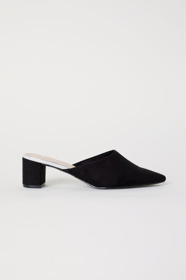 Sandali slip-on - Nero - DONNA | H&M IT