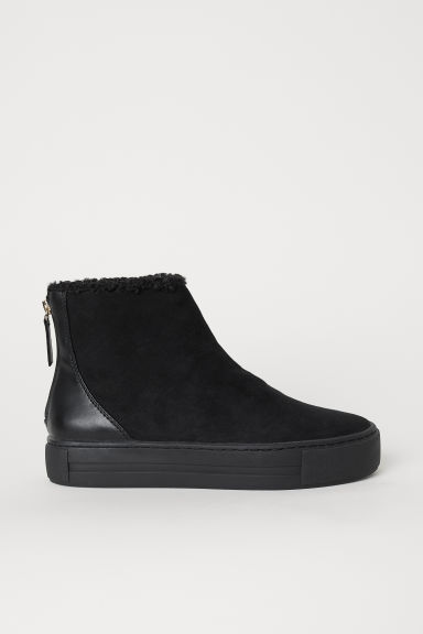 Sneakers alte foderate - Nero - DONNA | H&M IT