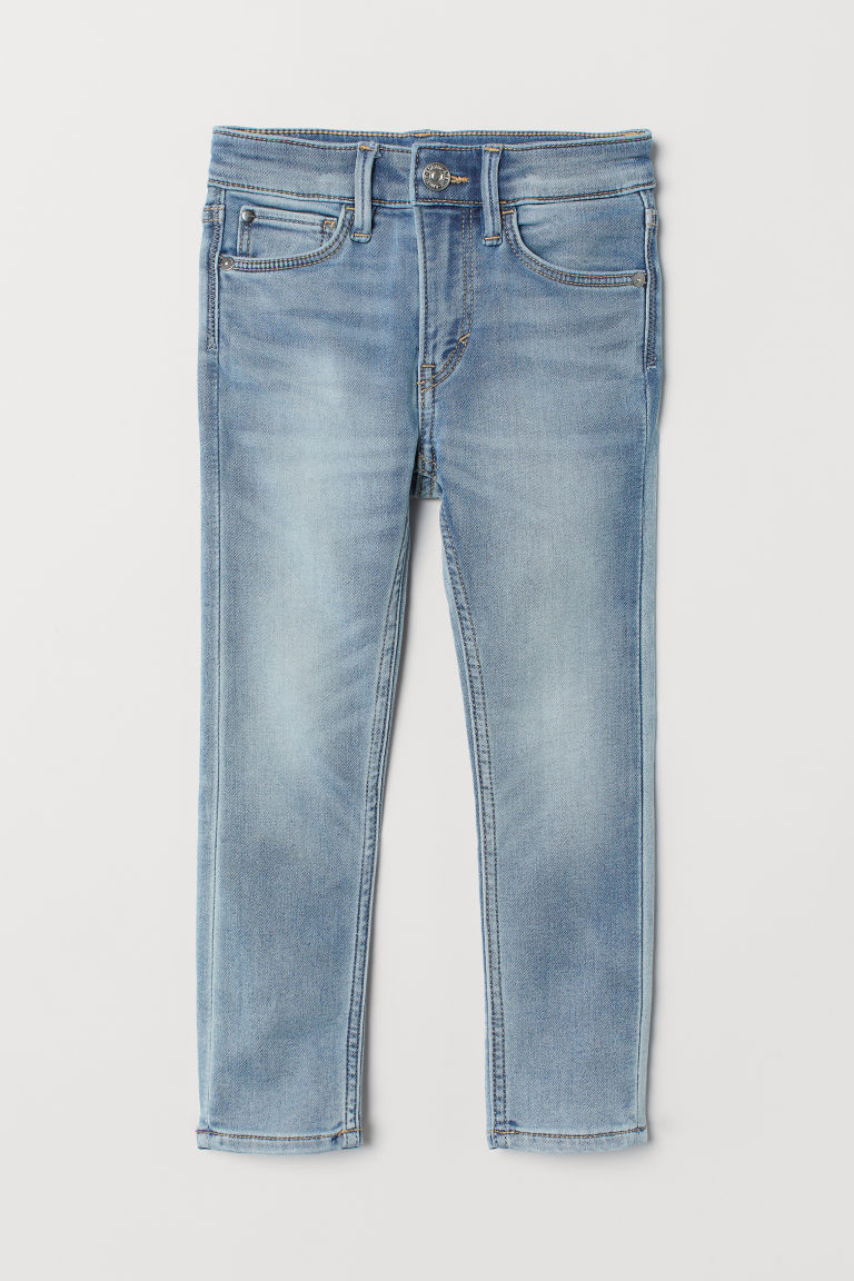 Super Soft Skinny Fit Jeans - Blu denim chiaro/washed - BAMBINO | H&M IT