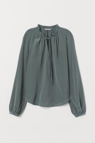 H&M - Blusa de seda - 5