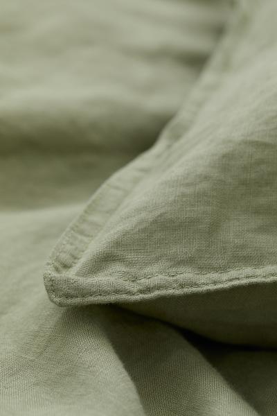 H&M - Funda nórdica en lino lavado - 4