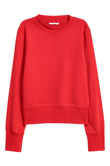 Sweatshirt - Red - Ladies | H&M CN