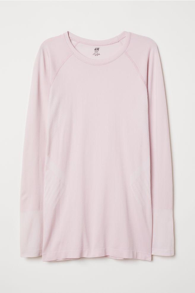 67de8edcceb ... Sportovní triko - Světle růžová - ŽENY