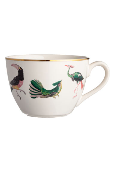 Stoneware cup - White -  | H&M IE