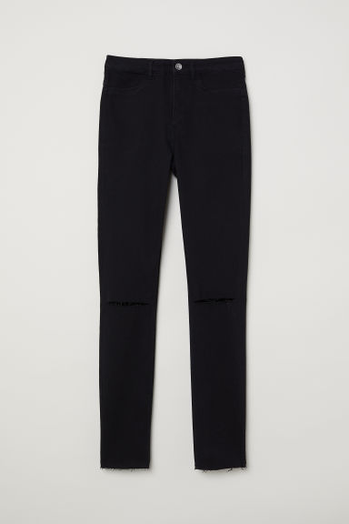 Super Skinny Fit High Jeans - Nero - DONNA | H&M IT