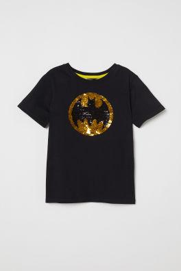c75b9b76eeb1 Reversible-sequin T-shirt