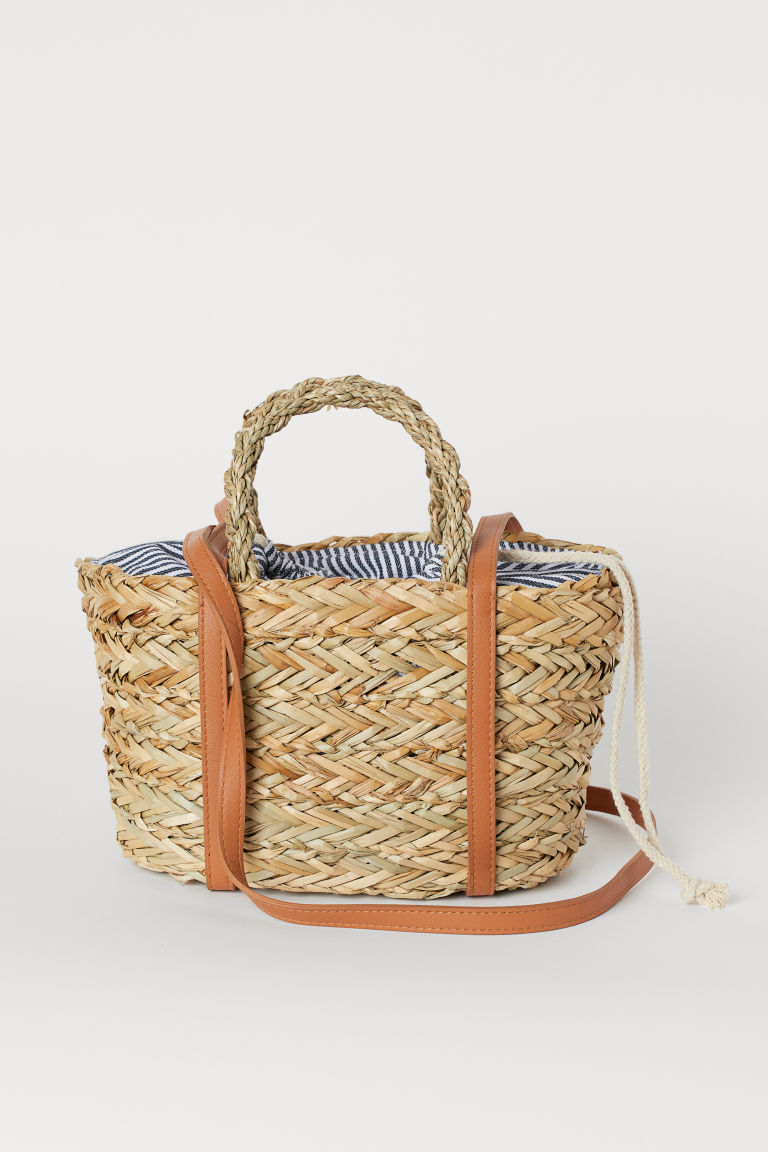 Straw Bag - Beige - Ladies | H&M US