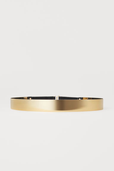 Metal Waist Belt - Gold-colored - Ladies | H&M US