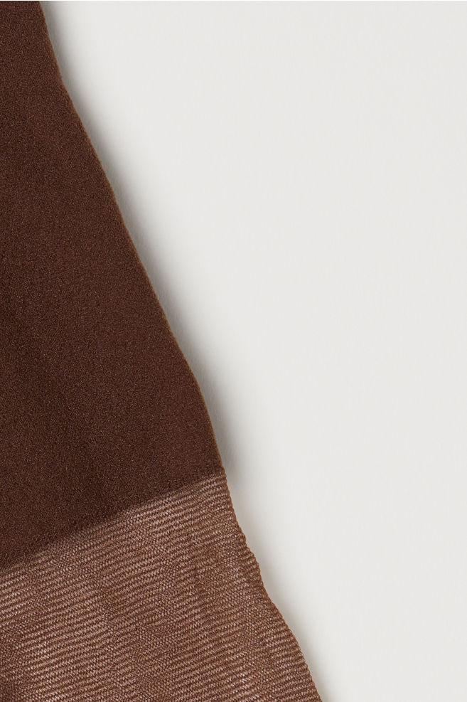 9834bd27ce4c7 ... 2-pack 20 Denier Tights - Dark brown - Ladies | H&M ...