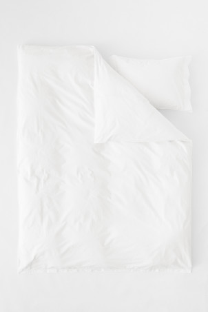 Cotton Percale Duvet Cover Set