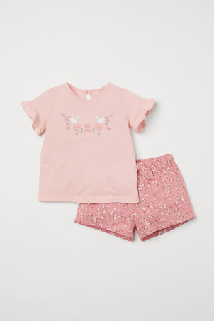 2-piece cotton setModel