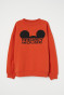Orange/Mickey Mouse