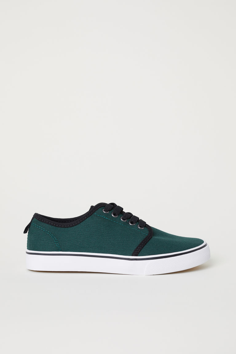 Trainers - Dark green - Kids | H&M CN